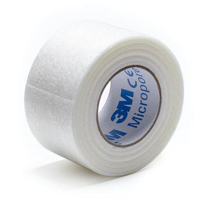 """Tape 3M Micropore Paper 1"""" x10 yd 12pk"""