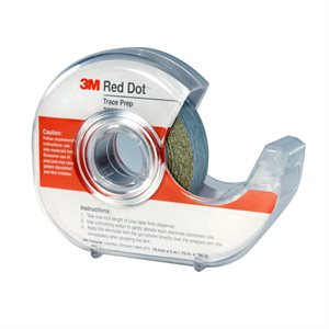 3M Prep Skin Red Dot Sand Paper Tape