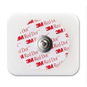 3M Red Dot Electrode, Foam Tape Backing, Sticky Gel 1 X 50 Pk