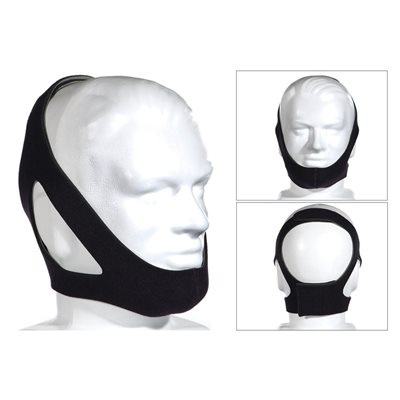 Chinstrap. Deluxe III. Adjustable. Around the Ears