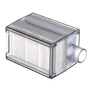 Filter .hepa concentrator. clear rectangle housing. muffler. Devilbiss. Each