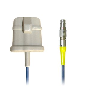 Braebon Large Size Sp02 Cable for MediByte w/ Silicone Finger Pouch