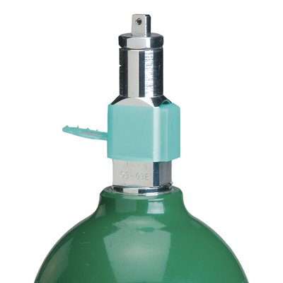 "Oxygen Post Valve Sleeve .5"" Green LDPE Case of 3000"