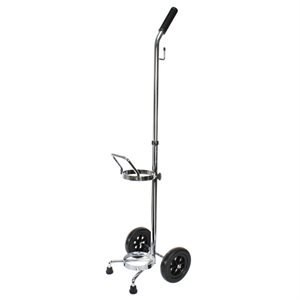 Cylinder Cart w/ Black Wheels, w/ Telescopic Handle, E/D x 1, Qty 4