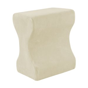 Contour Memory Foam Leg Pillow Each (For Soft Support)
