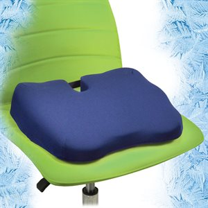 Contour Kabooti Seat Cushion, Large, Blue Qty 1