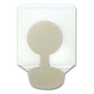 Kendall™ NuTab Adhesive Tab Electrode - 23x23 mm Qty 1 pack (100 electrodes)
