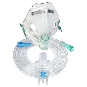 """Nebulizer. """"Misty Neb"""" /Adult Mask 50pk"""