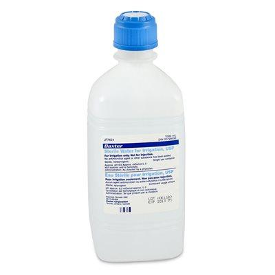 Sterile Water. 1000ml. Each