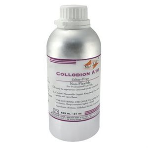 Collodion A10, Fast Drying Ether Free 21 oz (625ml) Aluminum Can