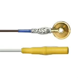 """EEG. Grass Gold. 10 mm. Yellow. 60"""".10 Pk"""