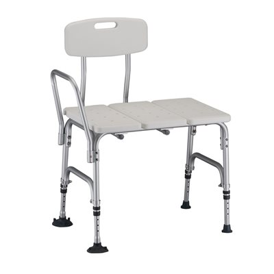 NOVA Bariatric Transfer Bench with back, up to 500lbs, Qty 2