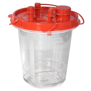 Canister. Suction. 1200 cc. 12pk