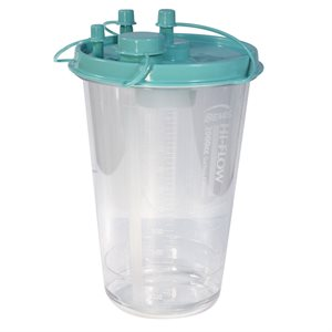 Canister. Suction. 2000 cc. 12pk