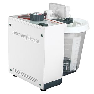 Easy Go Vac Aspirator, AC Unit w/800cc Disposable Canister