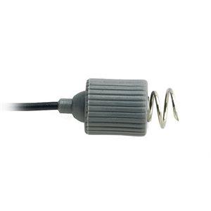 """Rhythmlink Disp. Corkscrew Needle Electrode, .6 mm (23 g.), lead 2.5 m (99"""") 6 colour Qty 12"""