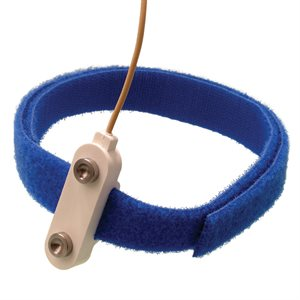 TECHNOMED Bar Electrodes 8 mm Flat SS Discs 1m Cable w/5-Pin DIN Plug * Hook & Loop Strap incl.